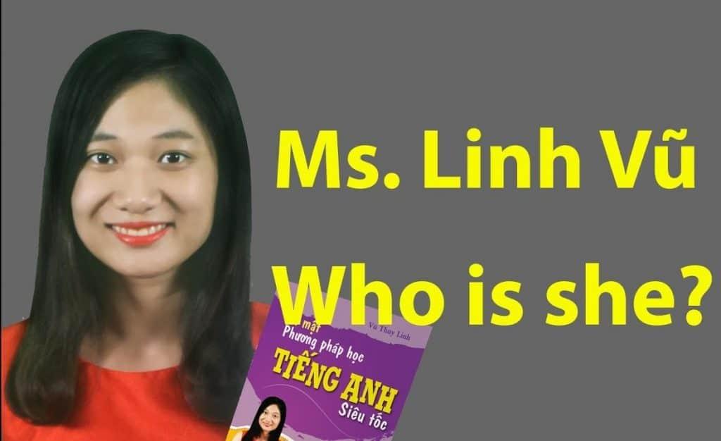 Ms. Linh Vũ - giảng viên khóa học tiếng anh giao tiếp cho người mất căn bản