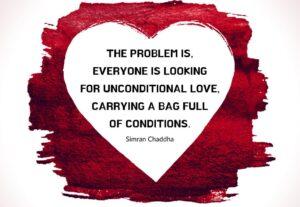 tình yêu vô điều kiện
