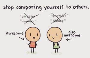 Ngưng so sánh bản thân với người khác