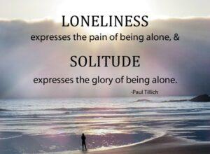 Sự khác nhau giữa cô đơn và cô độc